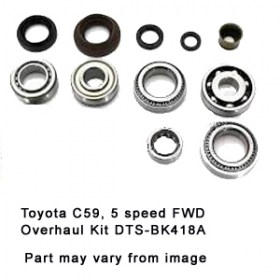 Toyota C59 5 speed FWD Overhaul Kit DTS-BK418A
